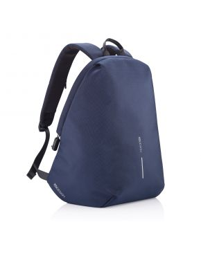 Bobby Soft Anti-Theft Backpack, Navy