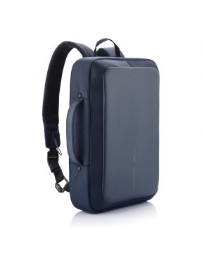 Bobby Bizz Anti-Theft Backpack & Briefcase, Navy