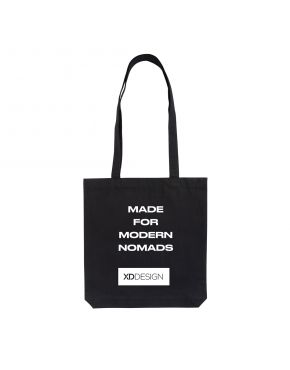 XD Design Recycled Cotton Shopping tote, Black