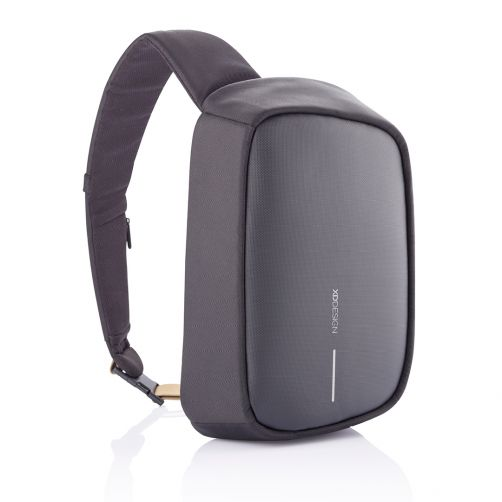 Bobby Sling Anti-Theft Crossbody backpack, Black