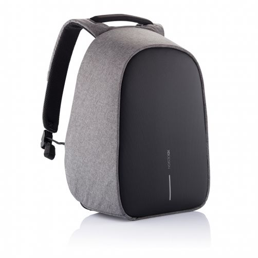 Bobby Hero Small Anti-Theft backpack, Grey