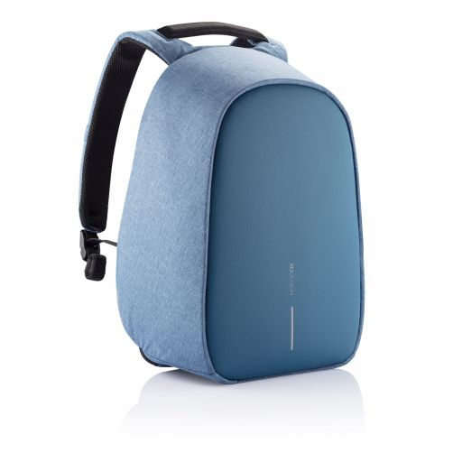 Bobby Hero Small Anti-Theft backpack, Light Blue