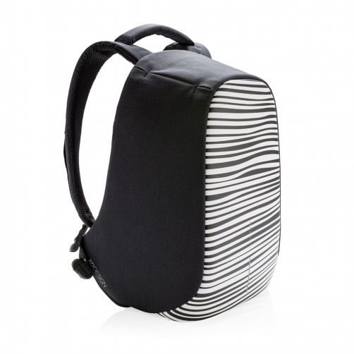 Bobby Compact Anti-Theft backpack, Zebra