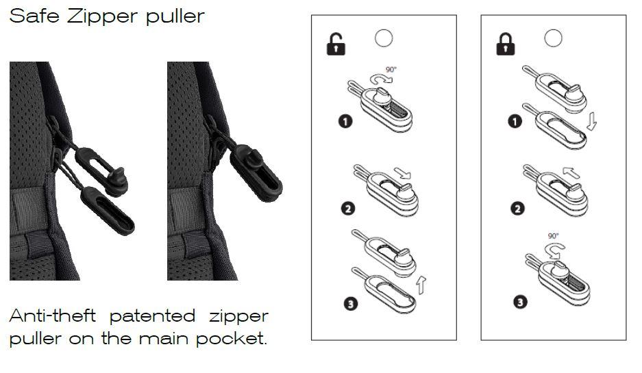 safe zipper puller bobby soft